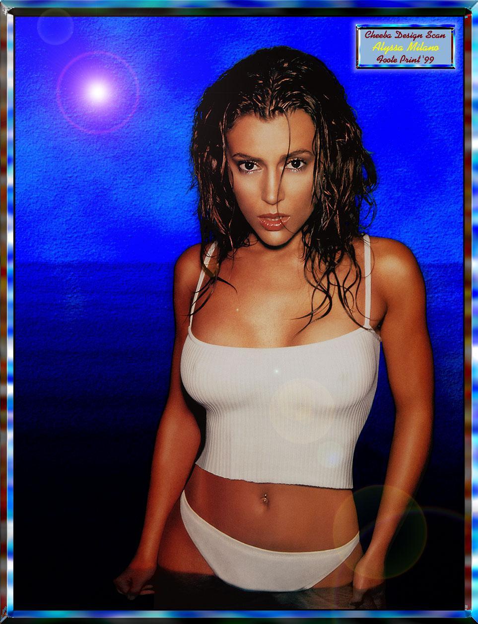 Сексуальные фото алисы милано 7 фотография