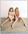 Olsen Twins showing their sexy legs