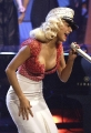 Christina Aguilera dressed like marine