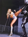Carmen Electra in action