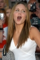 Amanda Bynes with open mouth