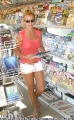 Britney Spears buying newspapers