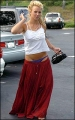 Britney Spears at the parking lot