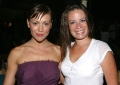 Alyssa Milano with her friend Tess