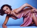 Natalie Portman posing in fantastic hot dress