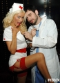 Christina Aguilera as a dirty nurse