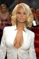 Jessica Simpson wearing sexy white dress