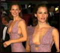 Jennifer Garner wearing sexy dress