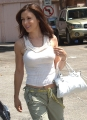 Alyssa Milano walking 